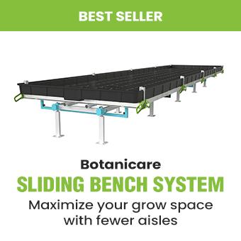 Botanicare Sliding Bench System promo