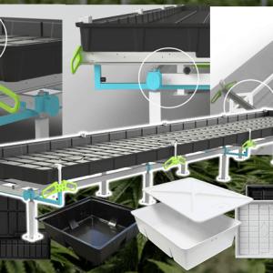 botanicare slide bench system