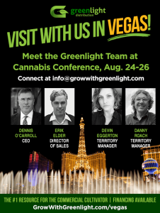 Visit with the Greenlight team in Vegas at the Cannabis Conference